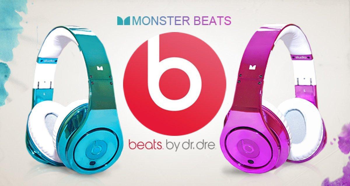 Оригинальные наушниками Monster beats - монстры звука!
