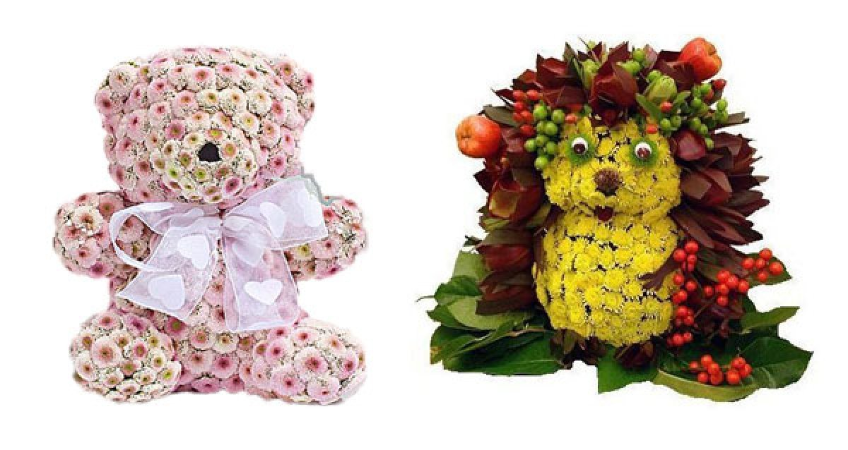 Букеты в виде животных цены, доставка цветов санкт-петербургу