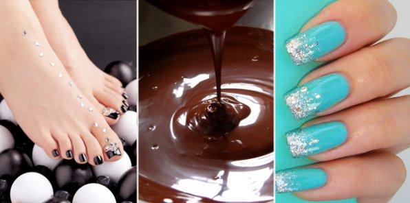 Шоколадное удовольствие для ваших ручек и ногтей!