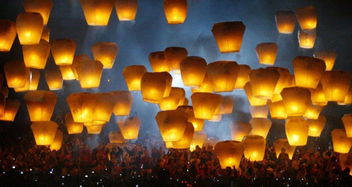 Небесные фонарики желаний!