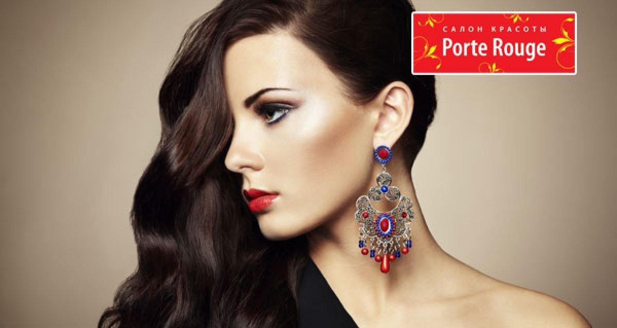 Всего 1250р. за 6-фазное ламинирование или кератиновое восстановление волос от салона красоты Porte Rouge!