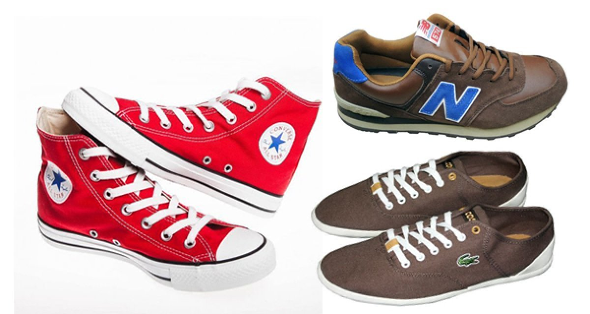 Встречайте лето в модной обуви! Всего 1699р. за любую пару кроссовок Lacoste, New Balance и кед Converse в youth.su
