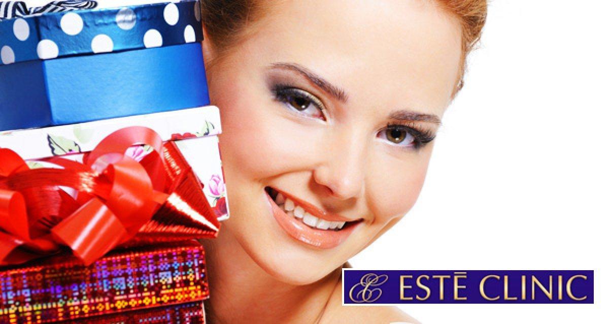 Красота - лучший подарок для любимых! Подарочные сертификаты на все процедуры от Este Clinic