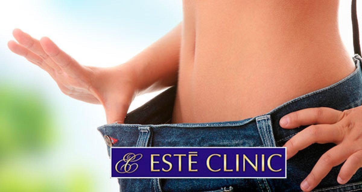 Криолиполиз - безоперационная липосакция холодом за 990р. + экспресс-программы похудения в Este Clinic!
