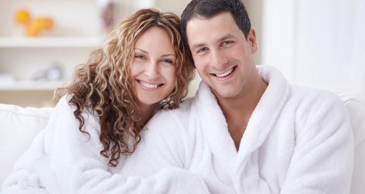 Махровые халаты для него и для нее!