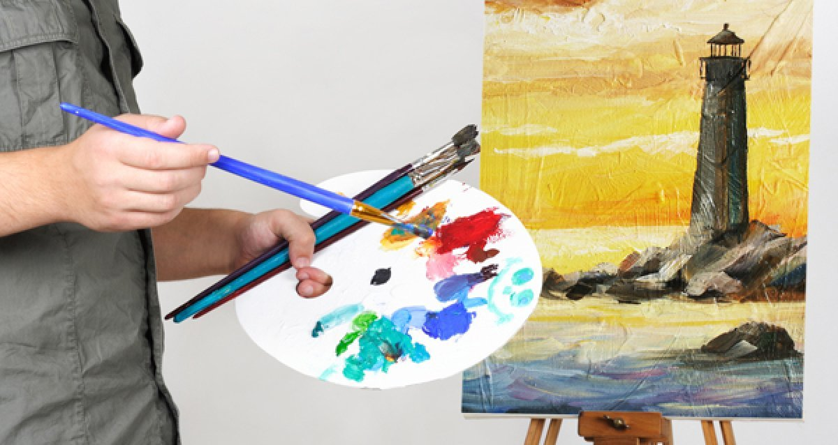 Научитесь рисовать в кратчайшие сроки! Уроки по рисованию масляными красками всего за 950р.