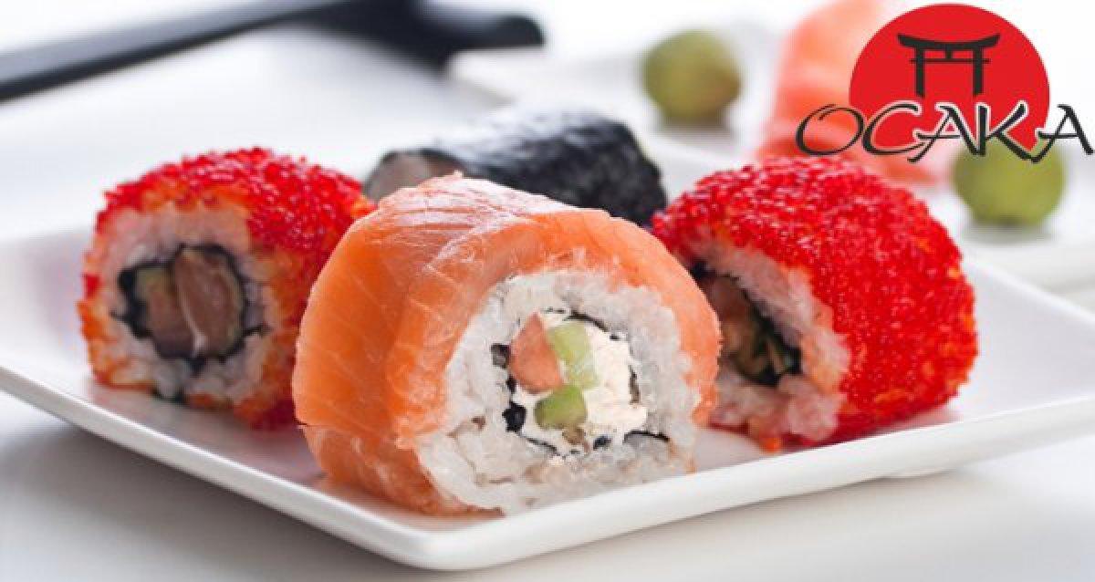 Наслаждайтесь вкусной едой! Скидки до 50% на все меню кухни и крепкий алкоголь в ресторане «Осака»