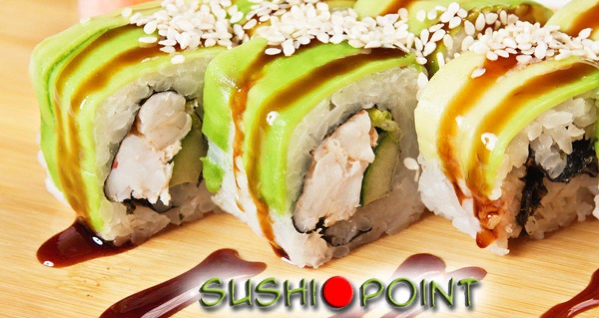 Японские деликатесы с доставкой на дом! Суши от 20 р., роллы от 35 р.! Скидка 50% на все меню и напитки! Вкусные подарки и бесплатная доставка!