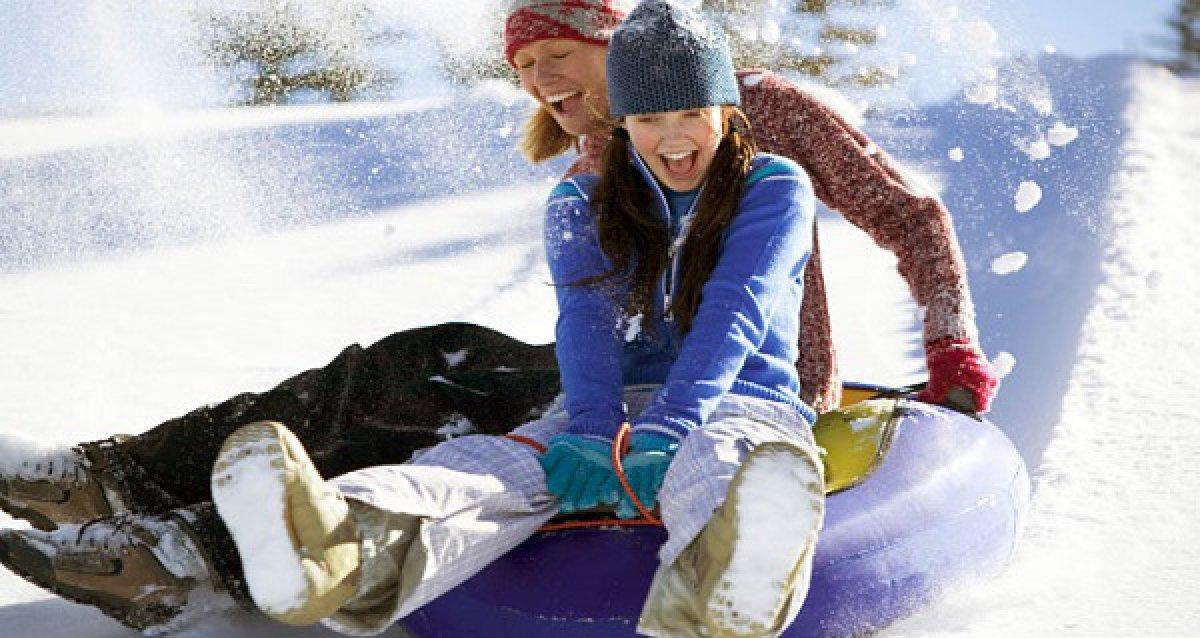 Готовьтесь к активному зимнему отдыху уже сейчас! Скидки до 50% на «санки-ватрушки» и термобелье!