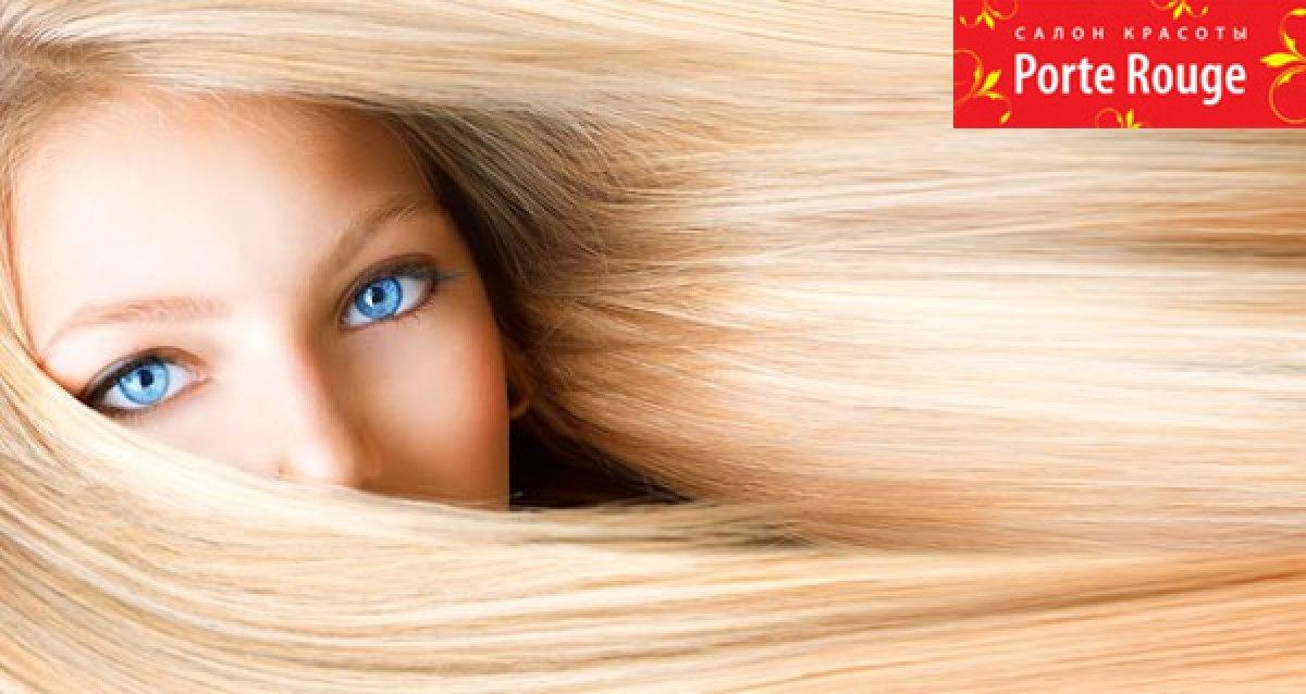 Комплексный уход за вашими волосами! 3D-голографическое окрашивание, стрижка горячими ножницами и уход за 1750 р.