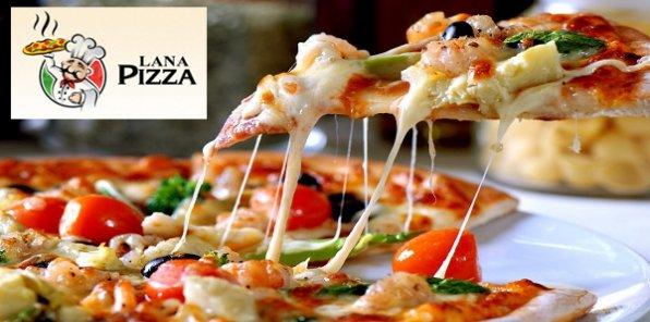 Более 20 видов вкуснейшей итальянской пиццы с доставкой на дом или в офис, а также скидка 50% на аппетитные пироги