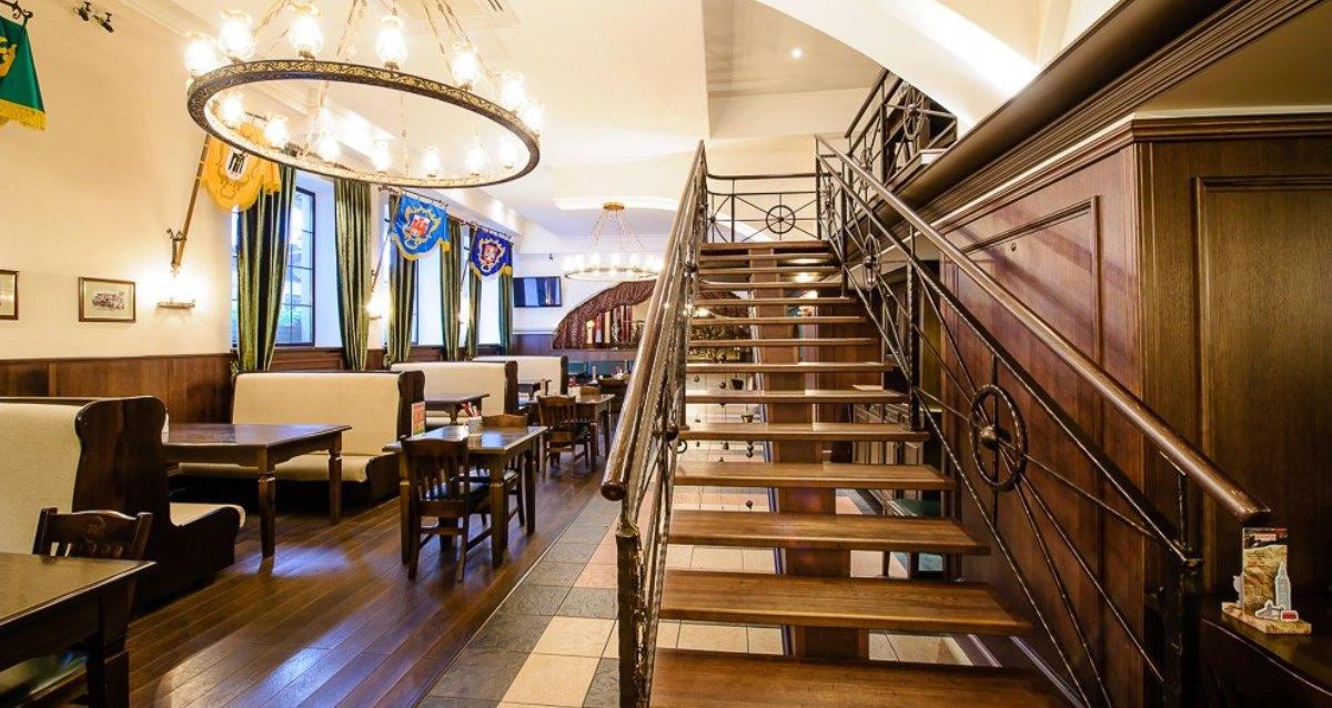 интерьер ресторана «Пивной дом»