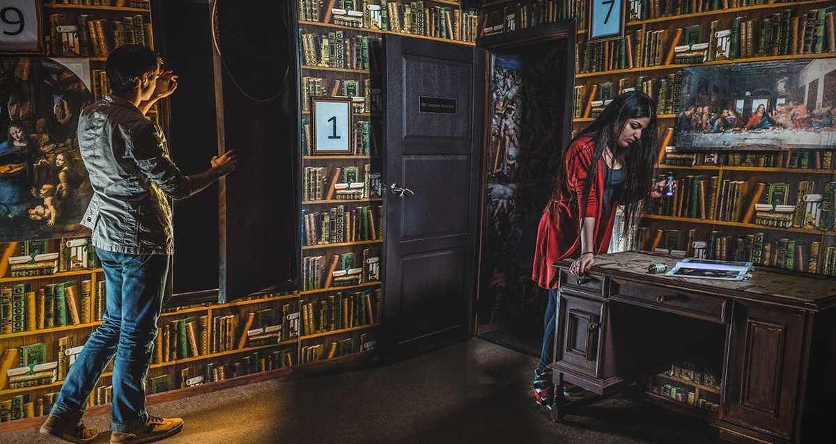 квест «Код да Винчи: тайна Святого Грааля»