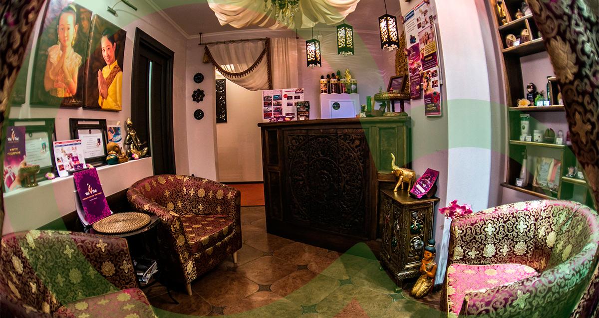 интерьер «Салона тайского и балийского массажа»