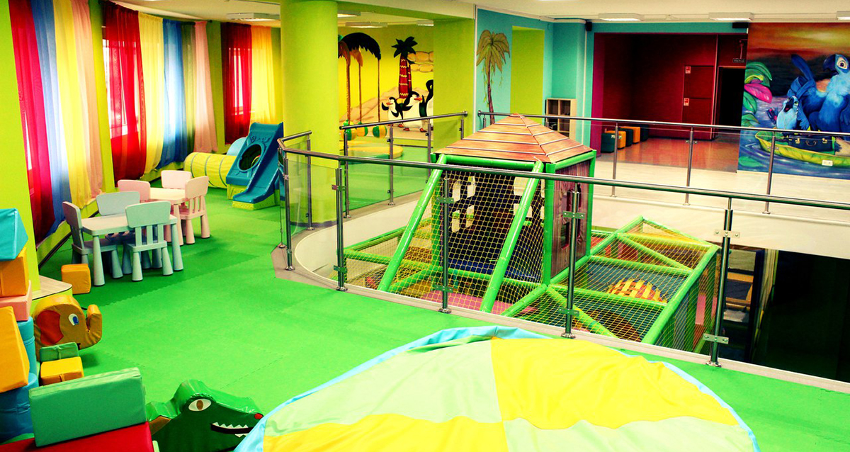 интерьер центра «Мадагаскар Junior»