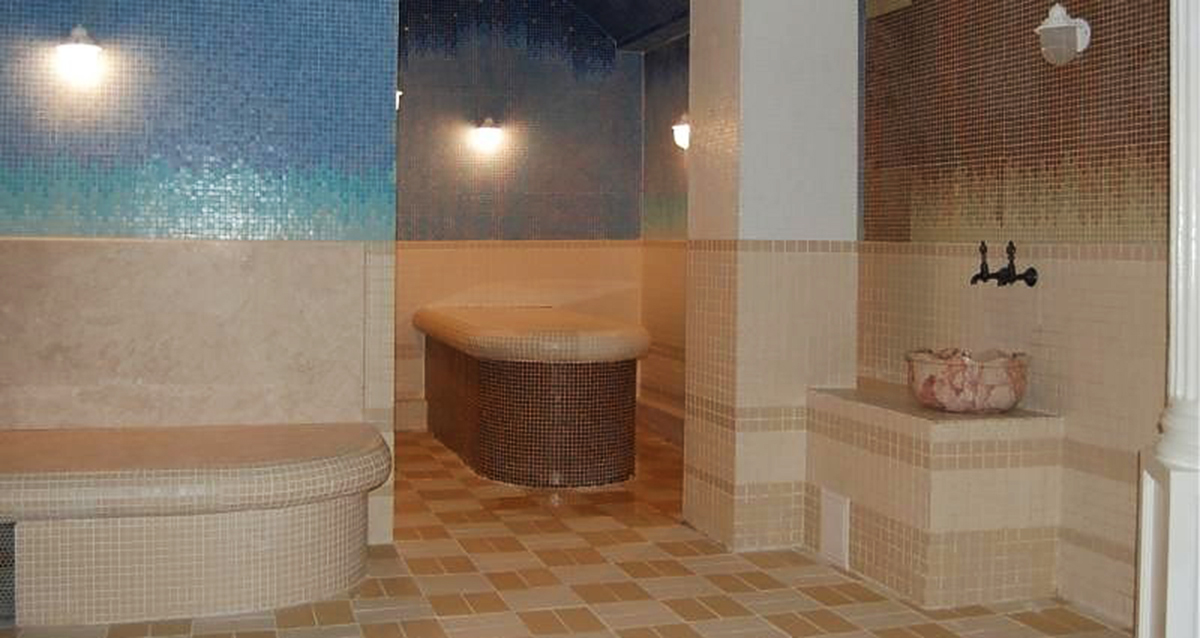 интерьер банного комплекса «Карибия»