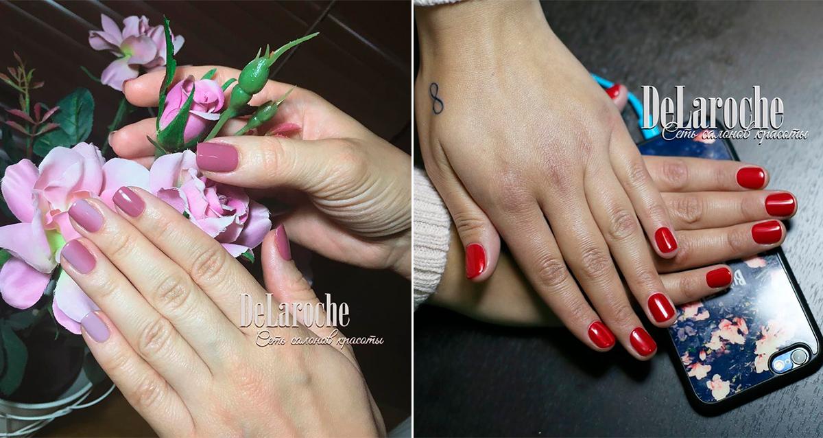 дизайн ногтей в салоне «Репост»