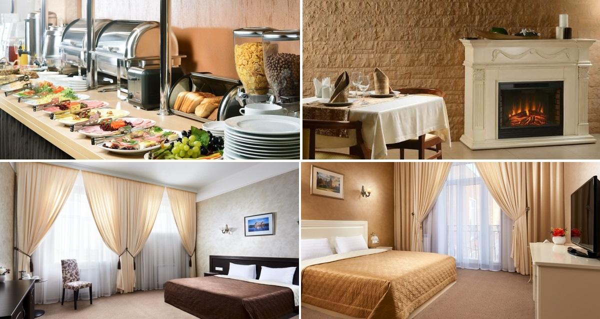 интерьер бизнес-отеля «Империал»