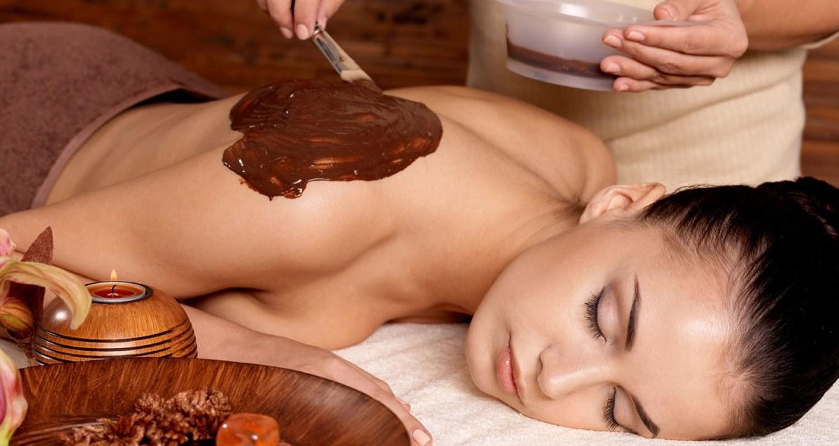 шоколадное обертывание