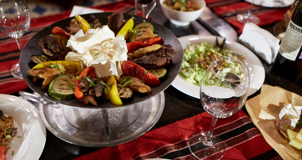 меню ресторана Marrakesh lounge