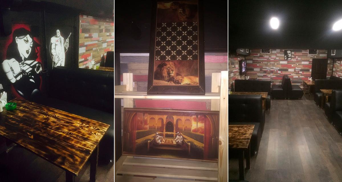 Лаунж-кафе «Департамент дыма»