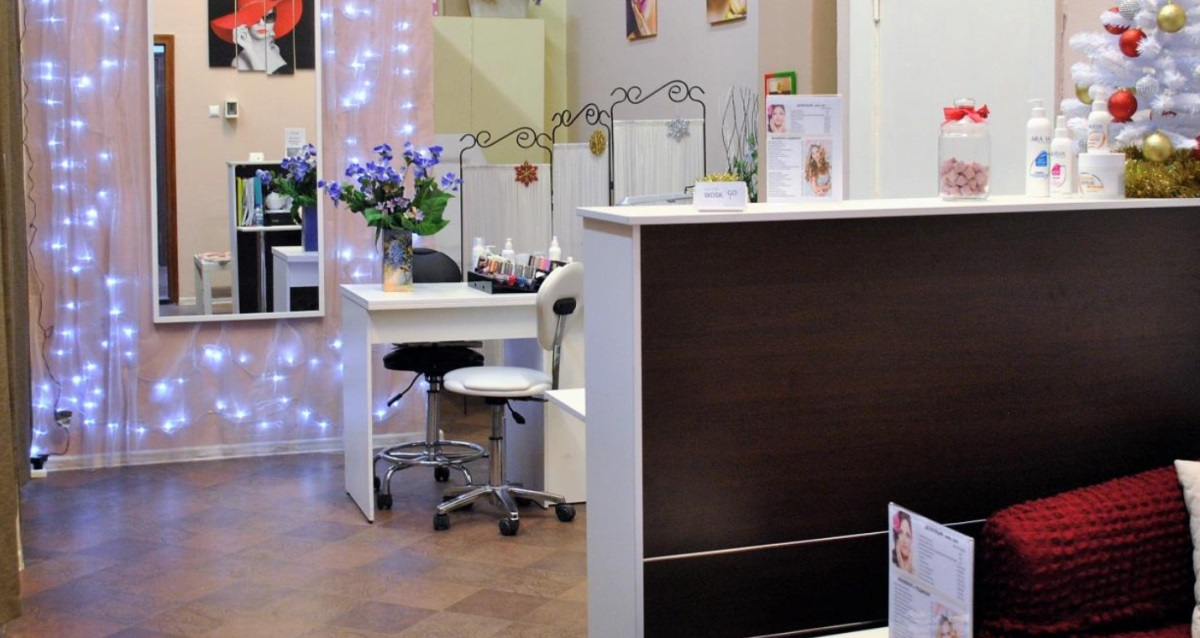 интерьер Beauty bar Wosk&Go