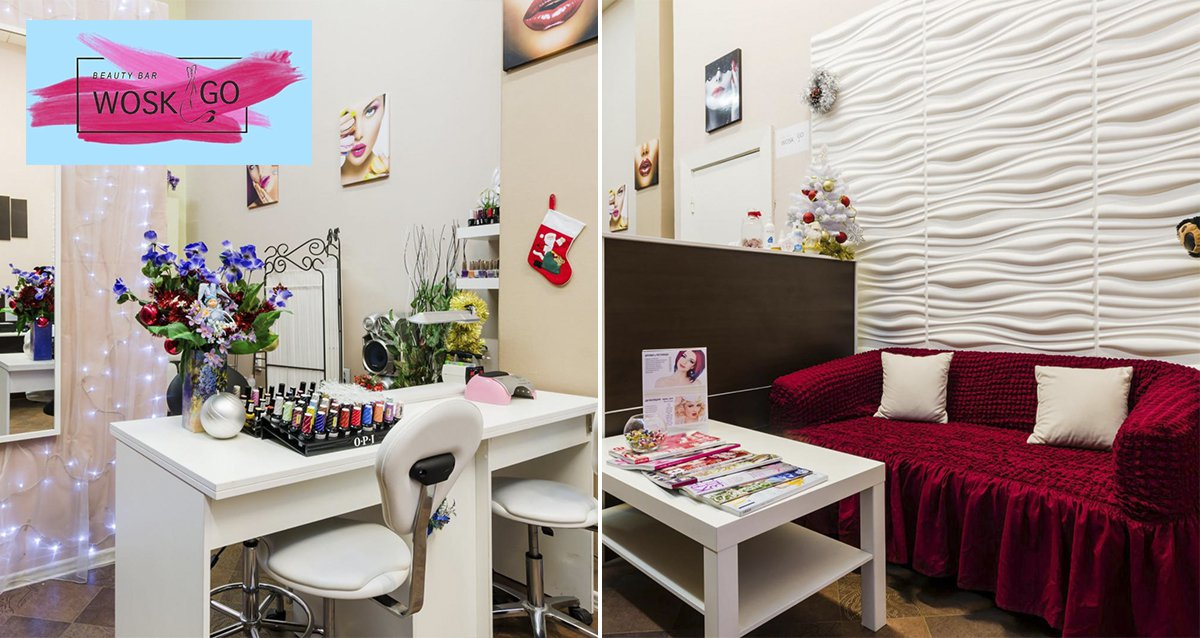 интерьер Beauty bar Wosk&Go