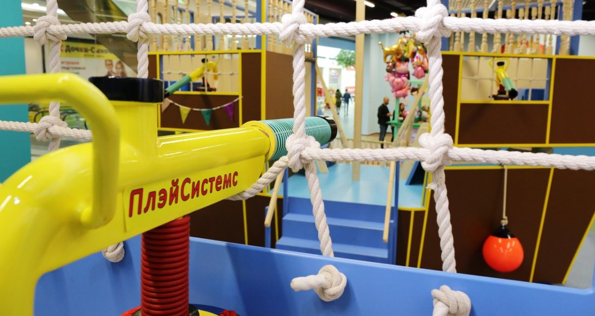 интерьер детского развлекательного центра Parc Enfance