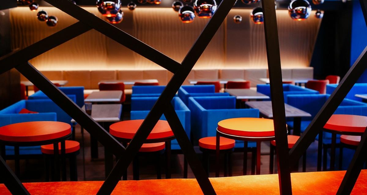 интерьер ресторана Balcon