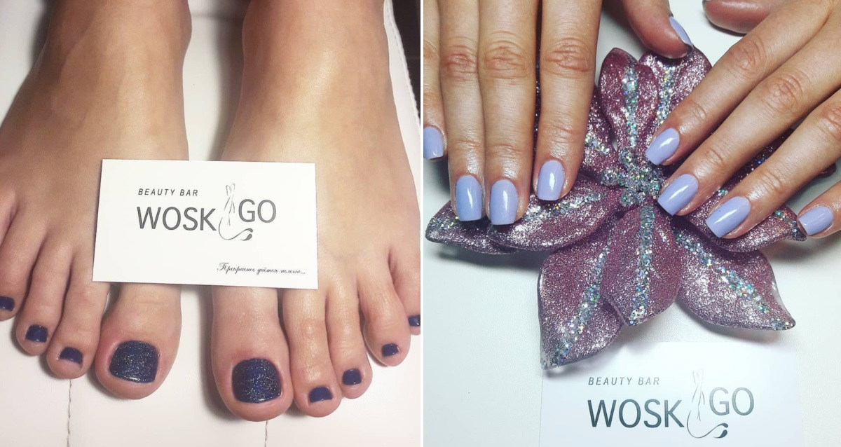 маникюр с гель лаком в Beauty bar Wosk&Go