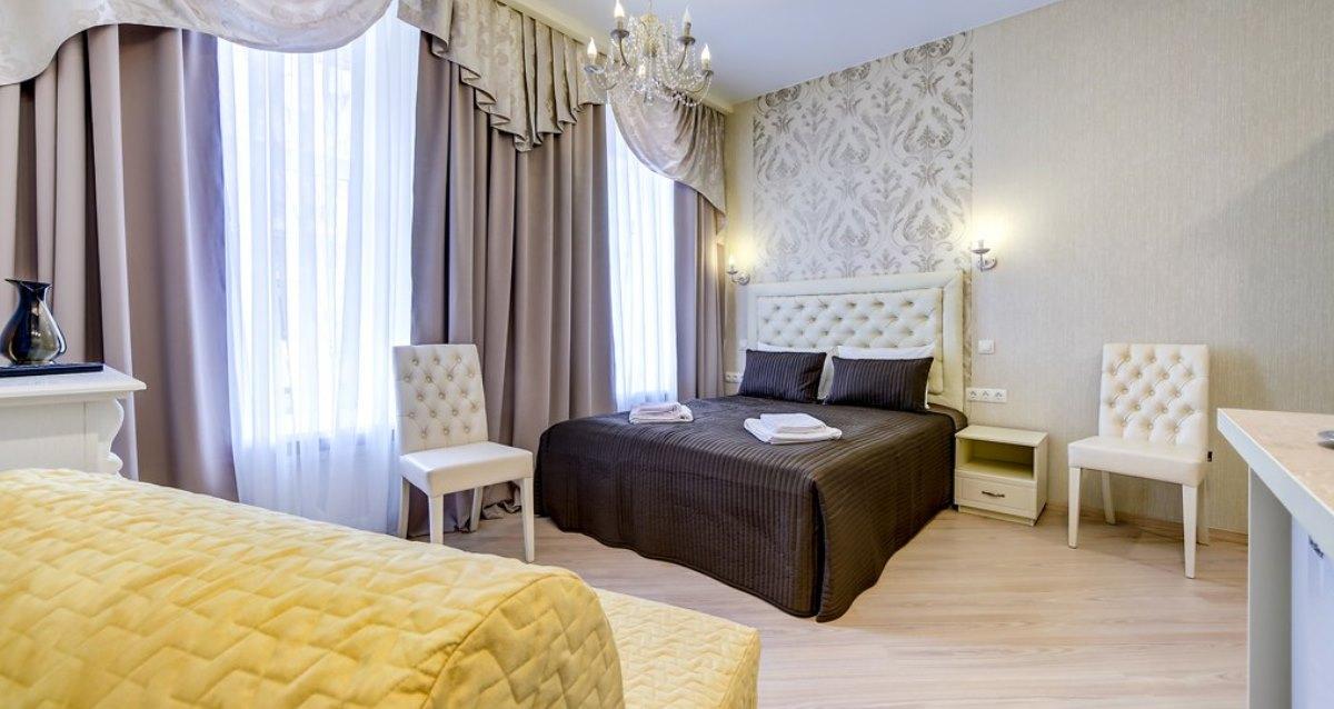 интерьер отеля «Аттенд»