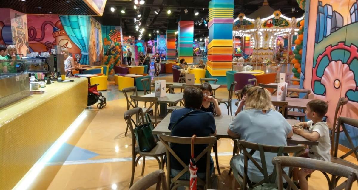 Детский парк развлечений Funky World в ТЦ «Каширская плаза»