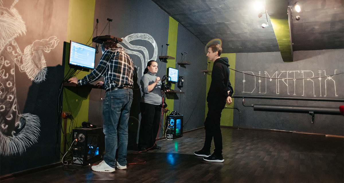 Клуб виртуальной реальности Dimatrix VR