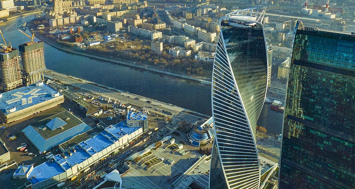 экскурсия на смотровую площадку «Москва-Сити»